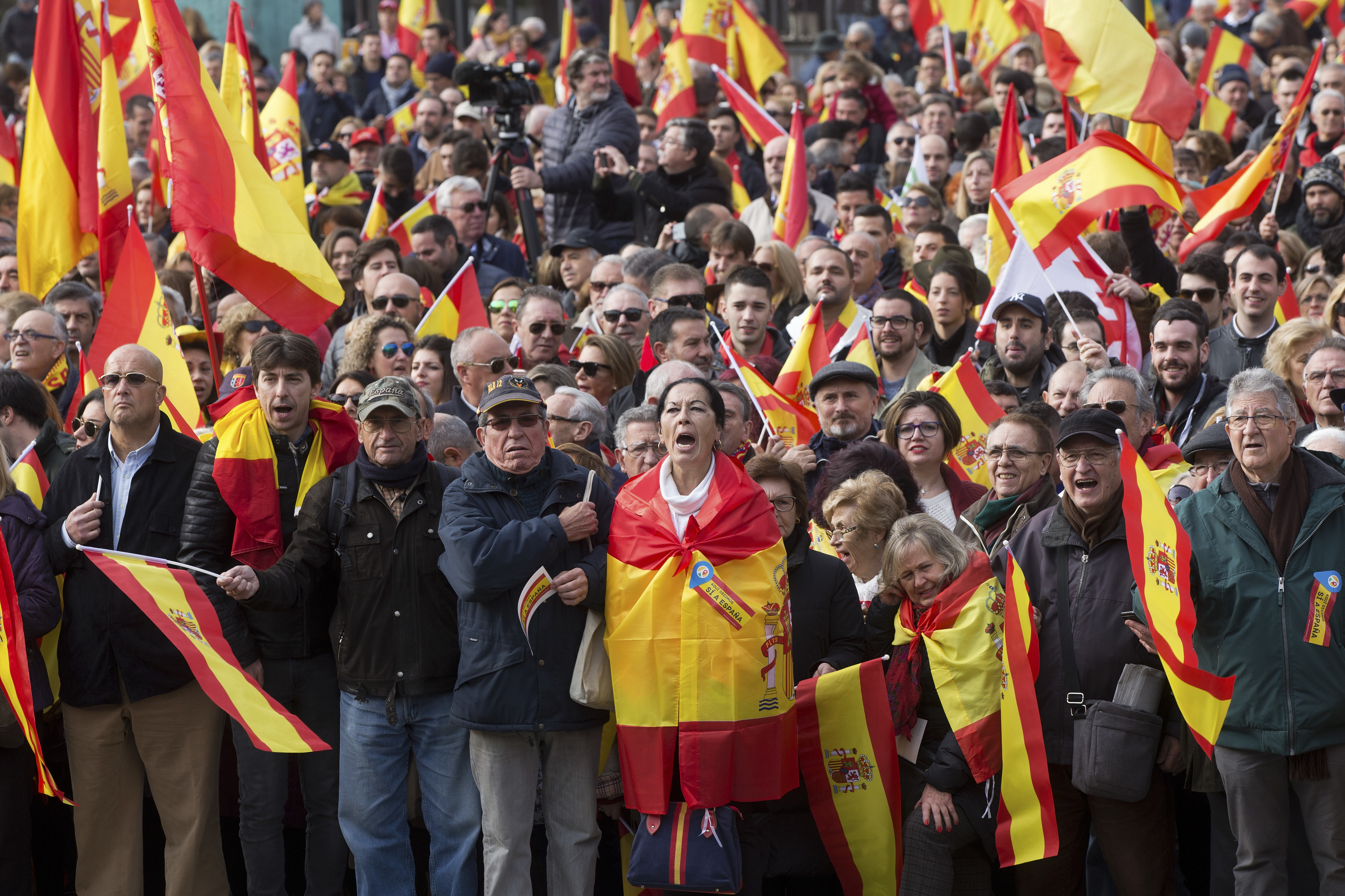 In Spain, Far-Right Populists Rise On Anti-Separatist Sentiment