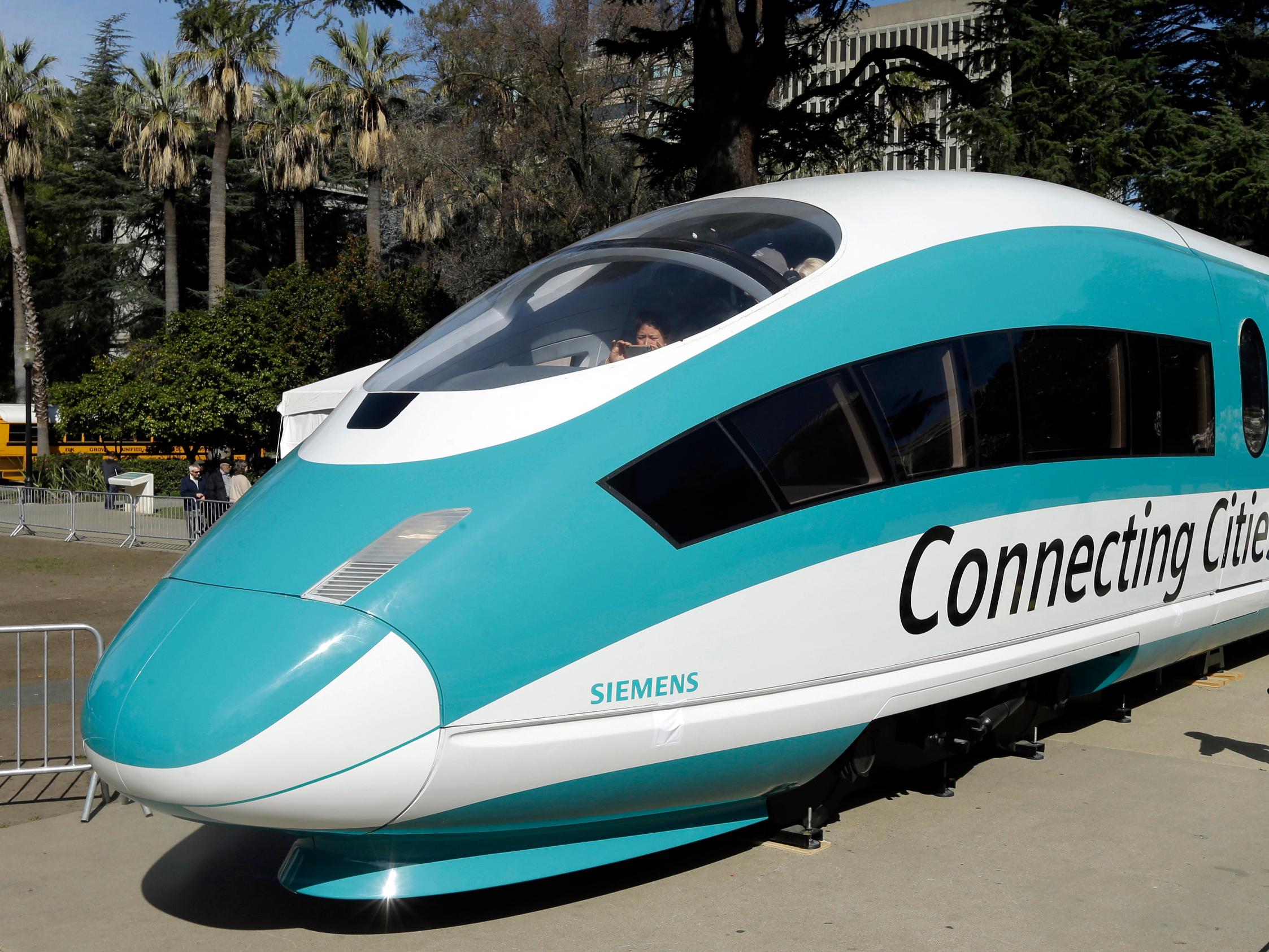 Trump Threatens To Cancel California's $929 Million High Speed Rail Grant