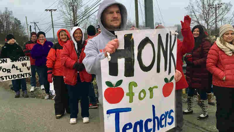 West Virginia's Education Bill Dies As Teachers Strike