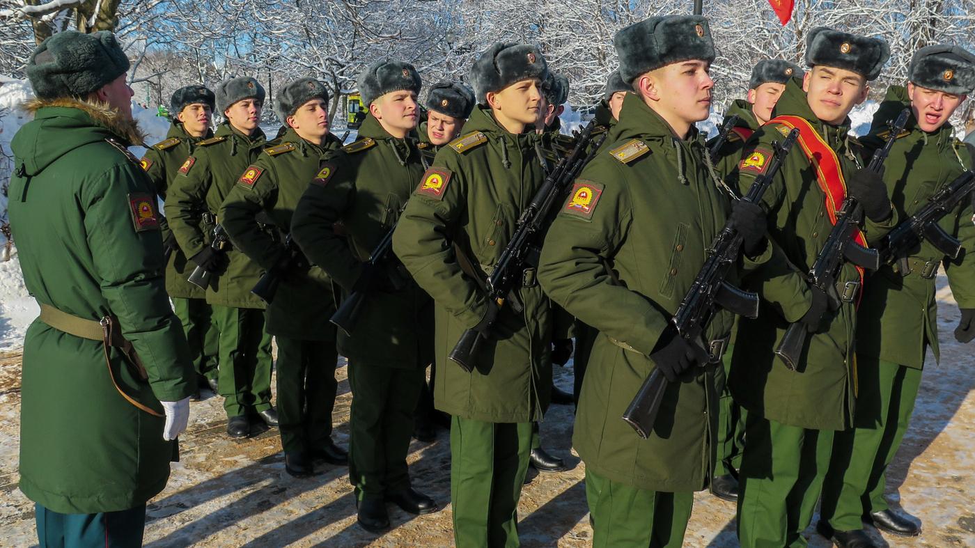 Russia's Veterans Take Pride In Soviet Afghan War : NPR