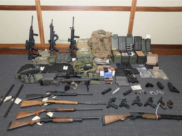 Federal prosecutors say Christopher Paul Hasson had acquired a cache of weapons and ammunition in an attempt to launch a domestic terrorist attack. Over the years, Hasson honed a hit list that included prominent Democrats and media figures.