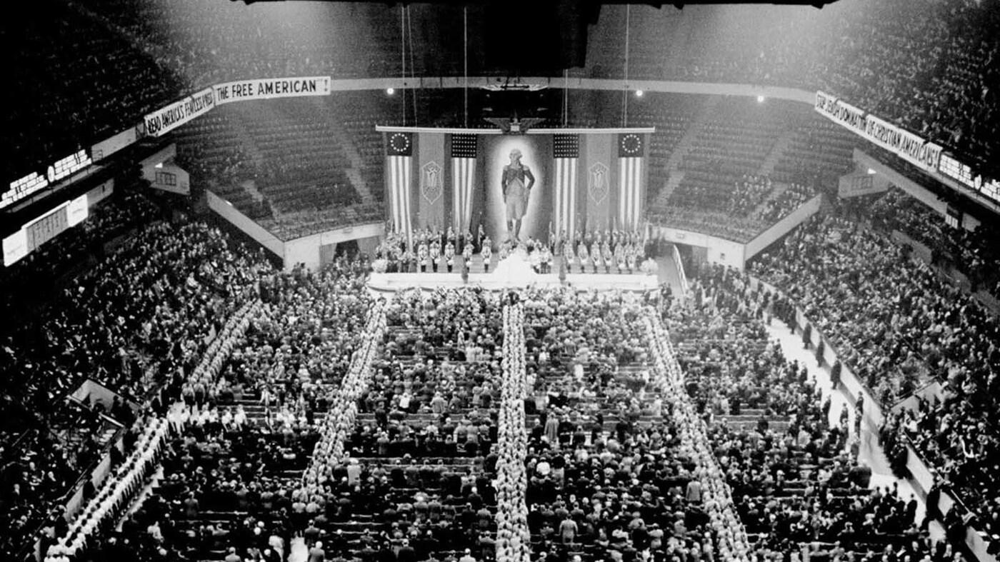 When nazis took manhattan code switch npr - Madison square garden nazi rally ...
