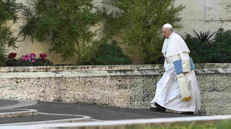 'A Life Destroyed': Survivors And Pope Address Clergy Sex Abuse At Vatican Summit