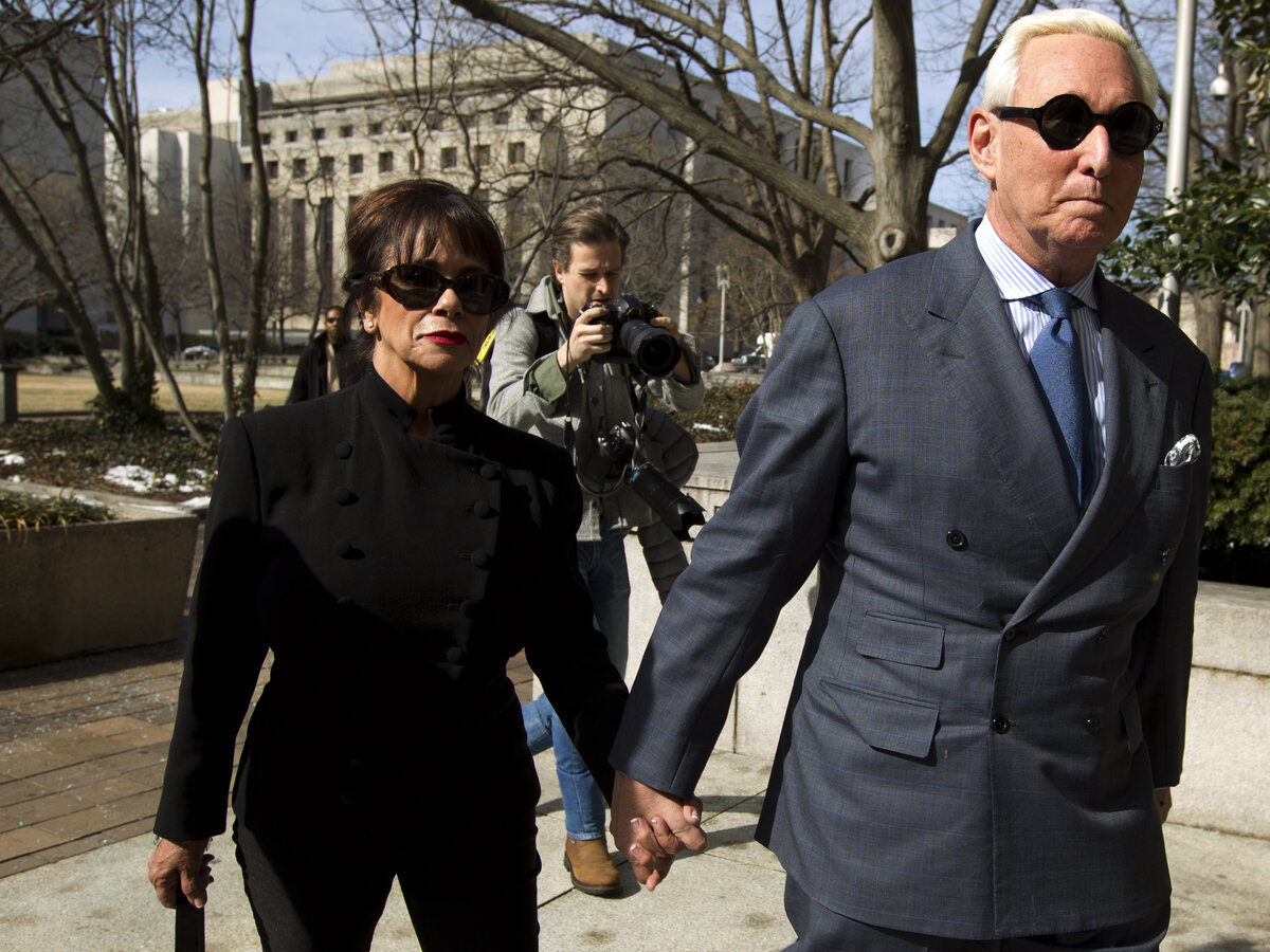 Roger Stone barred from talking about case