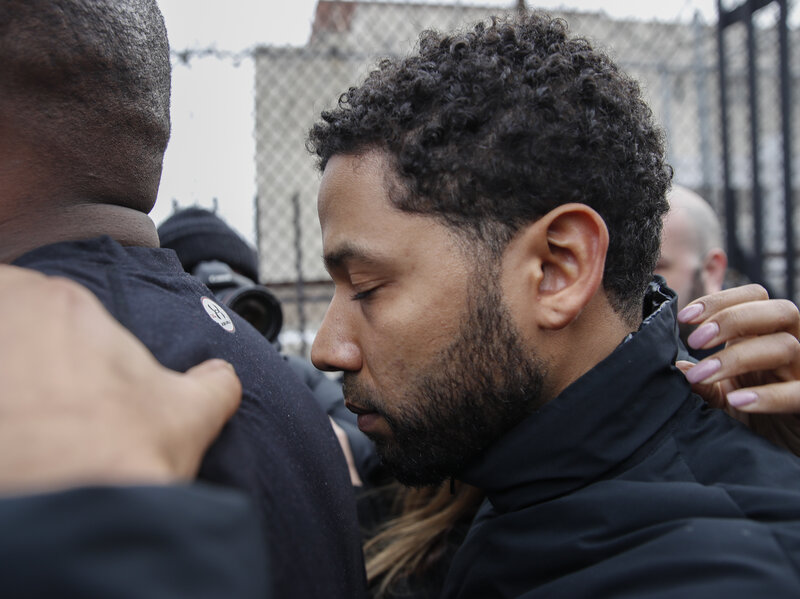 d4979939 Jussie Smollett 'Took Advantage Of The Pain And Anger Of Racism,' Police Say