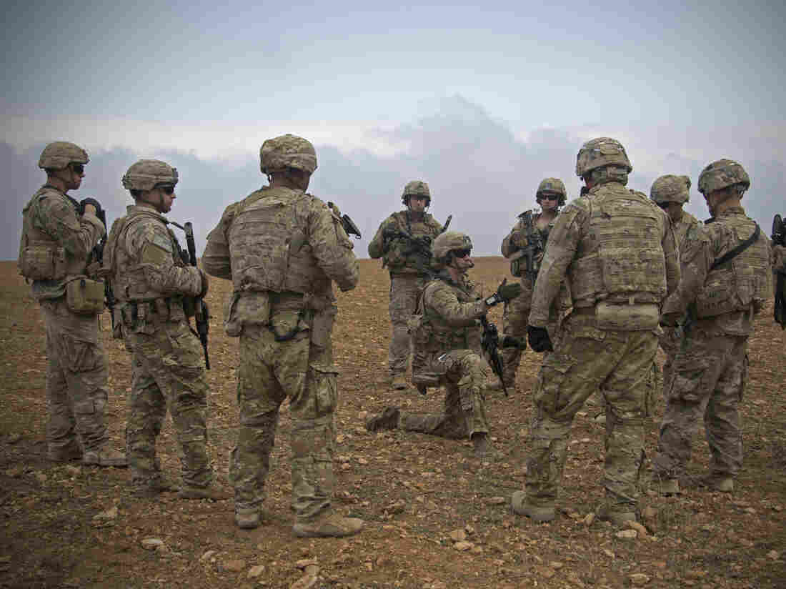 U.S. Will Leave 200 'Peacekeeping' Troops In Syria