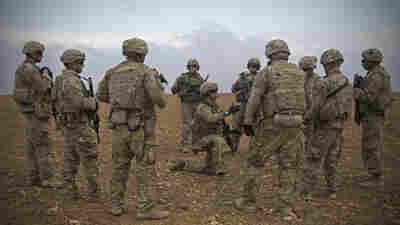 U.S. Will Leave 200 'Peacekeeping' Troops In Syria