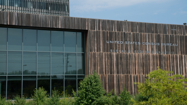 The U.S. Census Bureau's headquarters is located in Suitland, Md., just outside of the nation's capital.