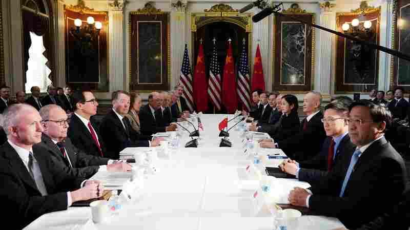 Trump Suspends China Tariff Hike, Citing Progress In Trade Talks