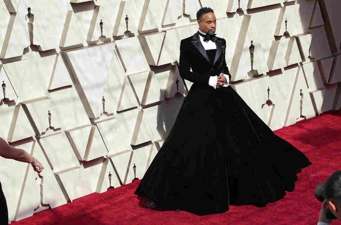 83a154cc Oscars Red Carpet: Photos Of The Fashion : NPR