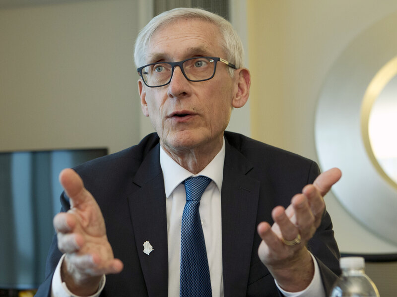 Wisconsin Gov. Tony Evers Joins Other States In Border Troop ...