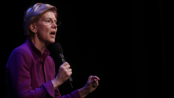 U.S. Senator and Democratic presidential candidate Elizabeth Warren (D-MA) speaks at an organizing event on February 18, 2019 in Glendale, California. Warren is attempting to become the Democratic nominee in a crowded 2020 presidential field.