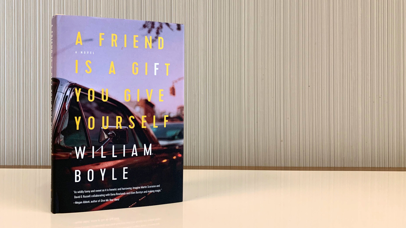 'A Friend Is A Gift' For Crime Novel Fans