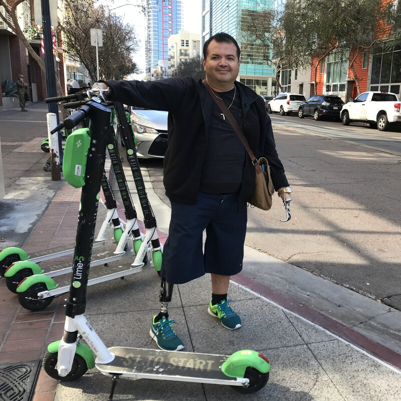 Electric Scooters: This Guy Juices Up Limes And Birds Each