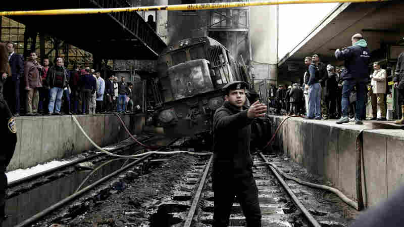 At Least 20 People Killed In Fire At Cairo's Main Train Station
