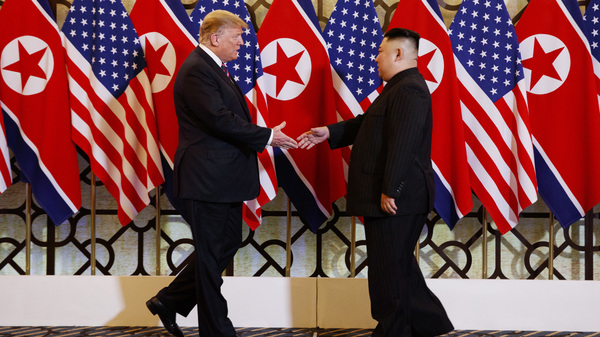 President Trump meets North Korean leader Kim Jong Un on Wednesday as their second summit begins in Hanoi.