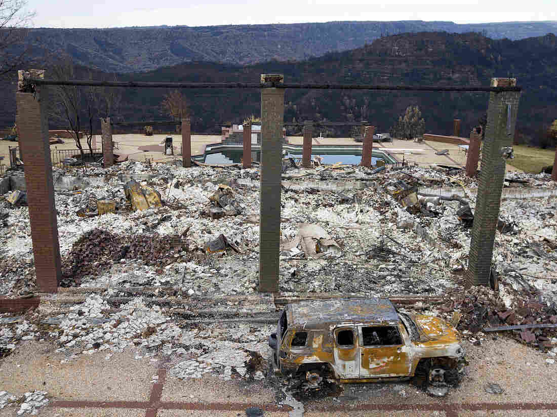 PG&E says it's 'probable' its equipment caused the Camp Fire