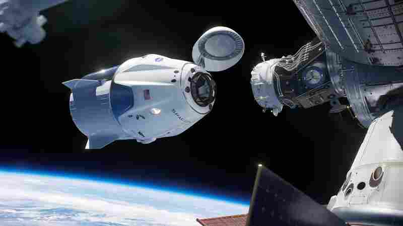 SpaceX Readies For Key Test Of Capsule Built To Carry Astronauts Into Space