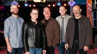 Ben Ellman, Robert Mercurio, Stanton Moore, Jeff Raines and Rich Vogel of Galactic, at Tipitina's, New Orleans, La. November 2018.