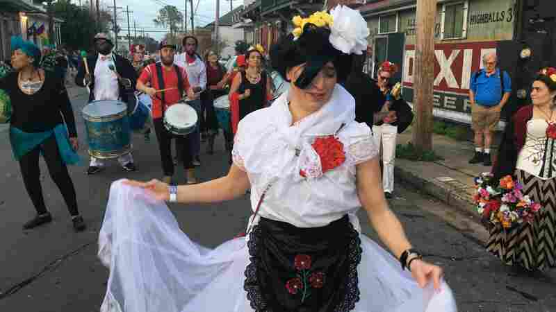For Mardi Gras, A Parade Celebrates Mexican Immigrants In New Orleans