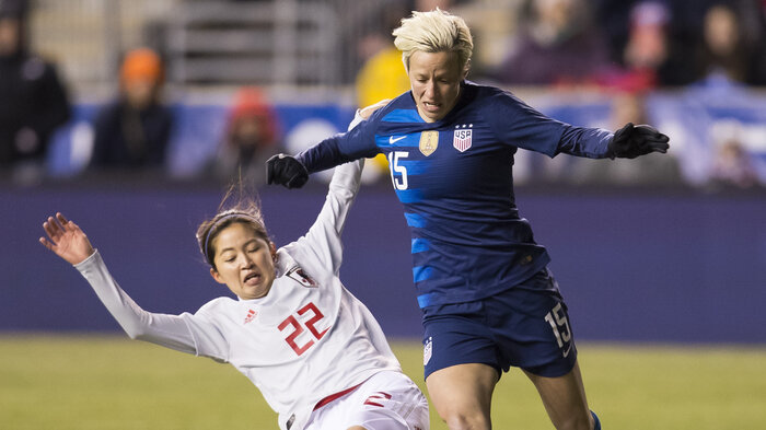 5430dadd8b8 U.S. Women s Soccer Team Takes Next Step To World Cup