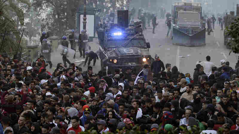 Protests Against Algerian President's Bid For Fifth Term End In Chaos
