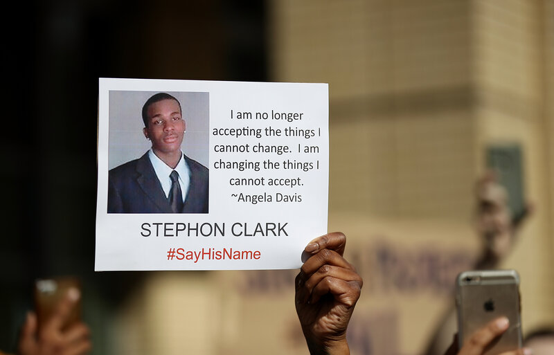 Officers In Stephon Clark Shooting Won't Be Charged, Says Sacramento