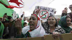Thousands Protest Against Algerian President's Bid For Fifth Term