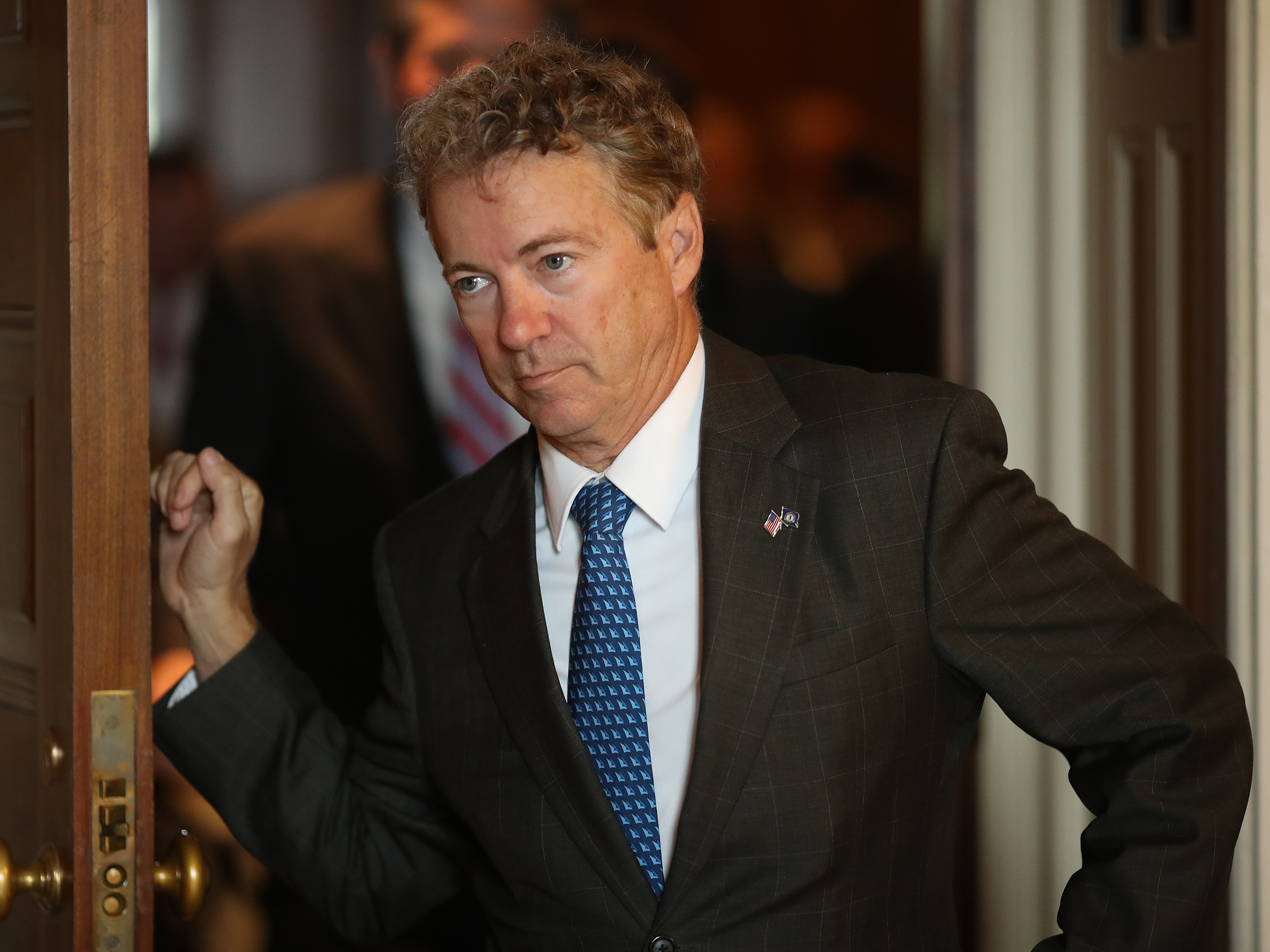 Rand Paul Says He'll Oppose Trump's Emergency Declaration On The Border Wall