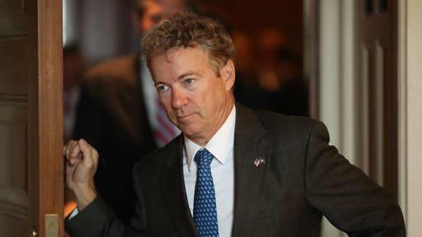 Rand Paul Says He ll Vote Against Trump s Border Emergency, Likely Forcing A Veto