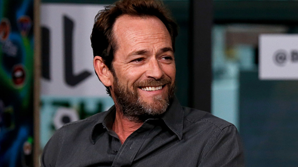 Luke Perry, seen here last October during a press appearance for the TV series <em>Riverdale</em>, has died following a massive stroke, his publicist said Monday. (Dominik Bindl/Getty Images)