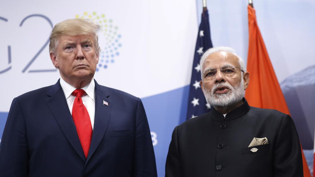 Trump To End India's Preferential Trade Status : NPR