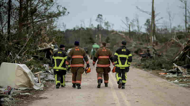 After Alabama Tornado, Search For Missing Continues As Recovery Begins