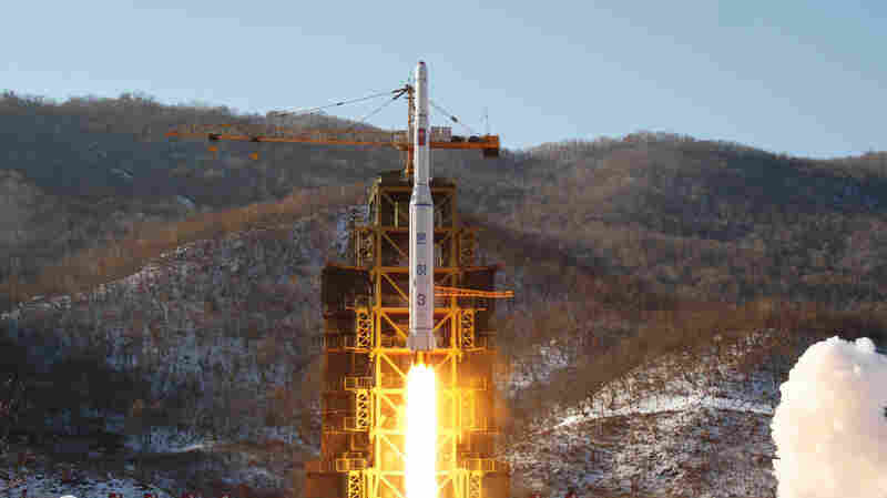 North Korea Seen Reassembling Rocket Test Site