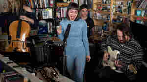 Meg Myers: Tiny Desk Concert