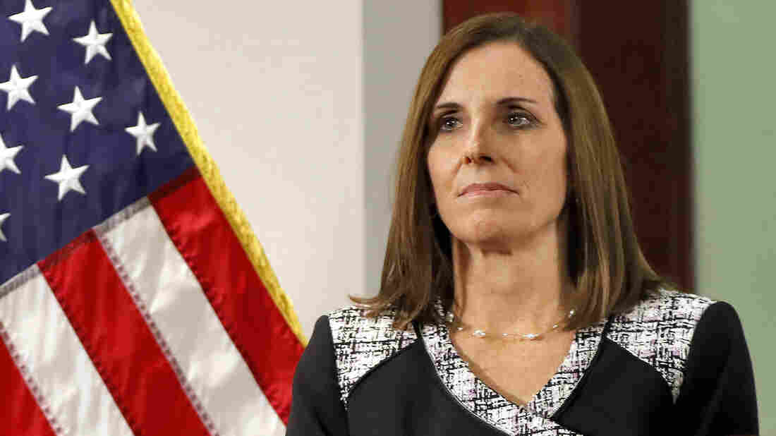 Sen. Martha McSally says she was raped by Air Force superior officer