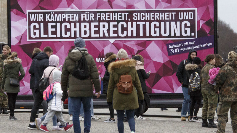 Berlin Marks International Women's Day As A Public Holiday
