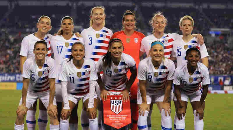 U.S. Women's Soccer Team Sues U.S. Soccer For Gender Discrimination
