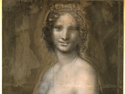 Scholars believe this drawing was likely made by Leonardo da Vinci. It was originally credited to one of his students.