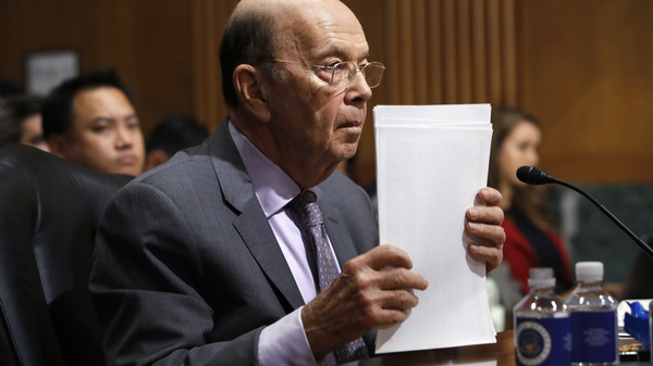 Commerce Secretary To Face Lawmakers In Hearing On Census Citizenship Question