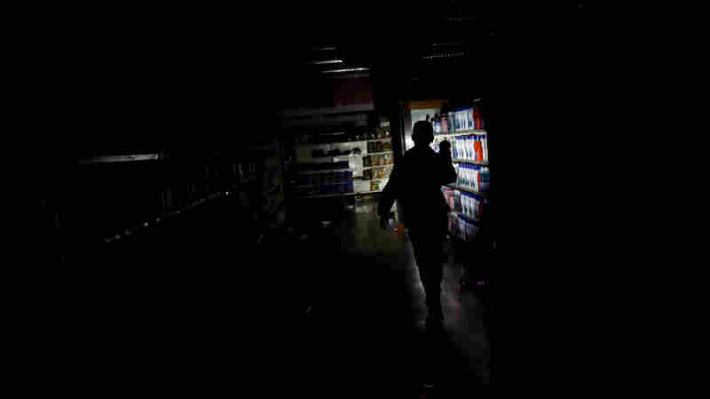 'This Is Going To End Ugly': Venezuela's Power Outage Drags On