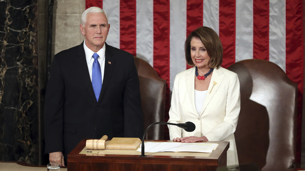 Speaker Pelosi Revokes Mike Pence s House Office Space