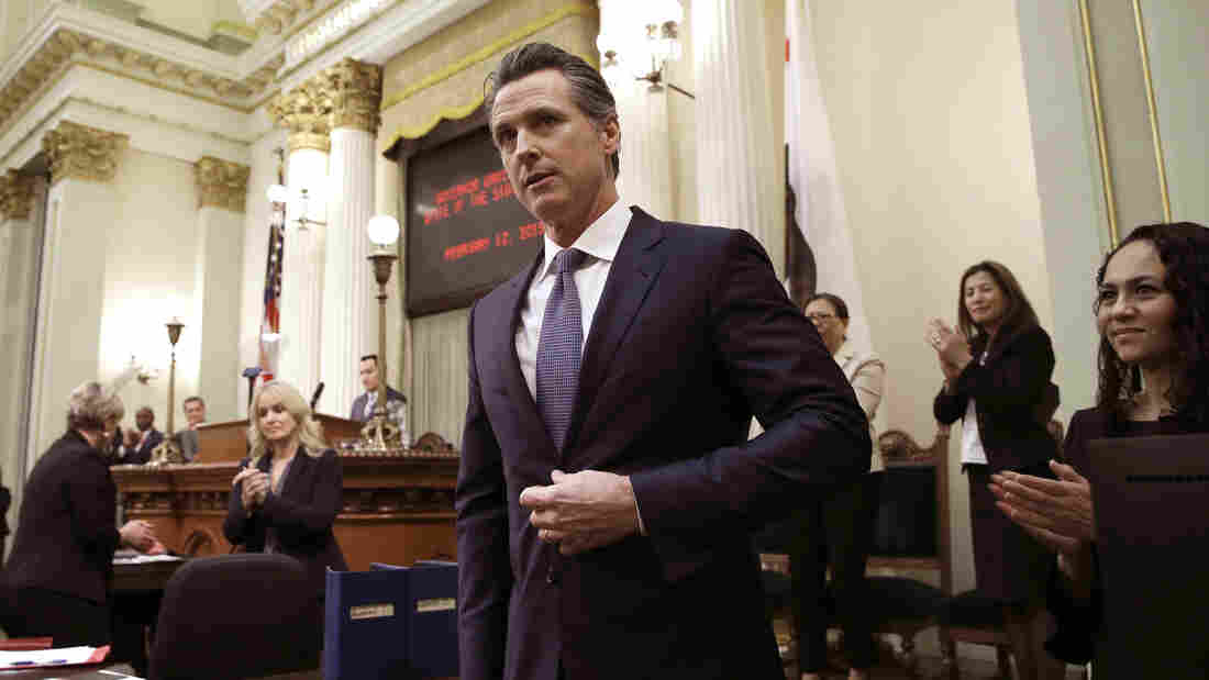 Gov. Gavin Newsom to stop the death penalty in California