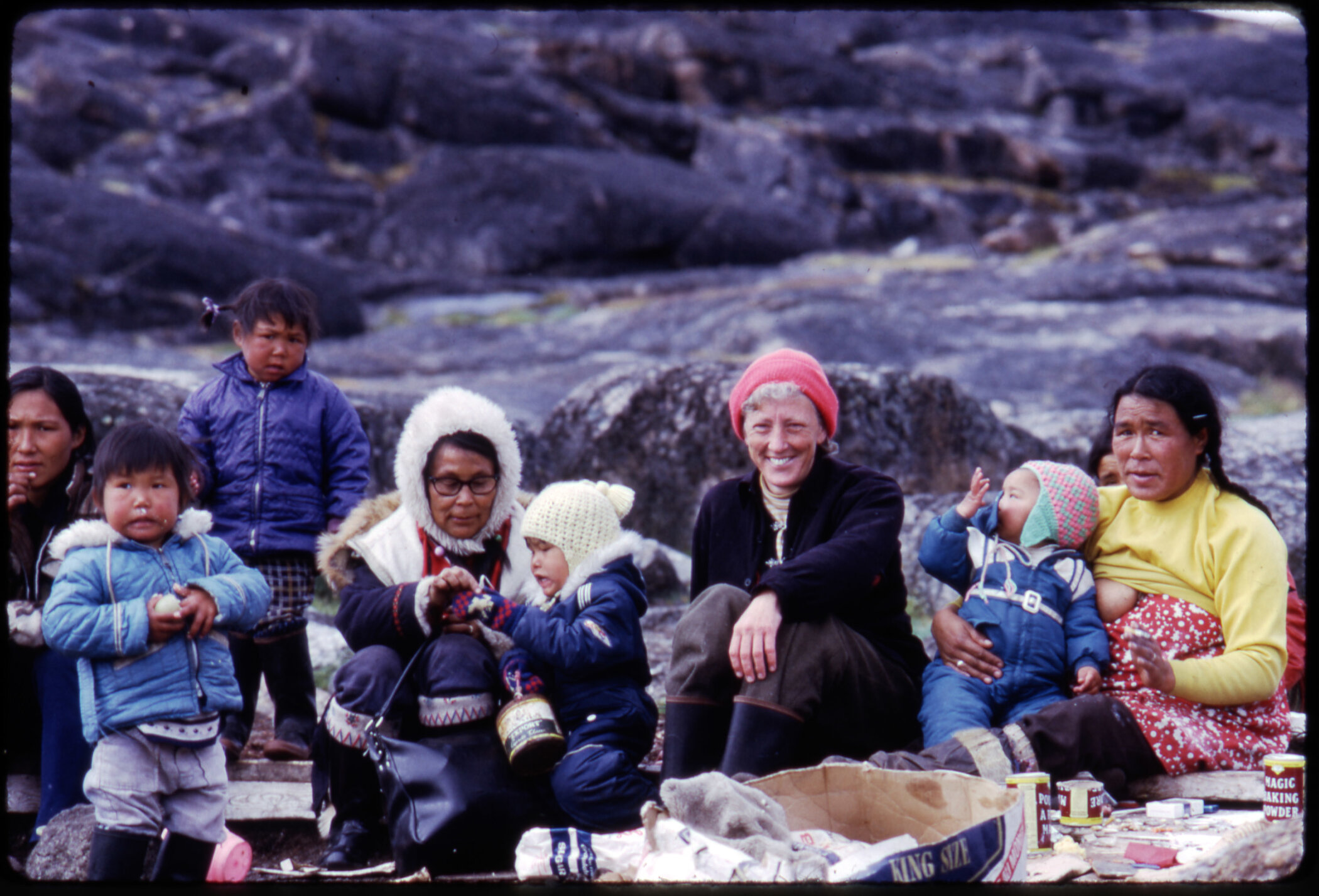 For more than 30 years, the Inuit welcomed anthropologist Jean Briggs into their lives so she could study how they raise their children. Briggs is pictured during a 1974 visit to Baffin Island. - Jean Briggs Collection / American Philosophical Society
