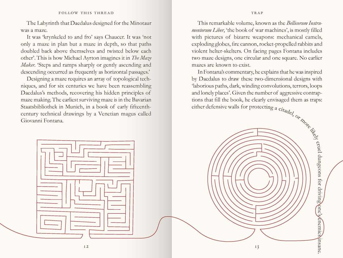 A page from Follow This Thread by Henry Eliot