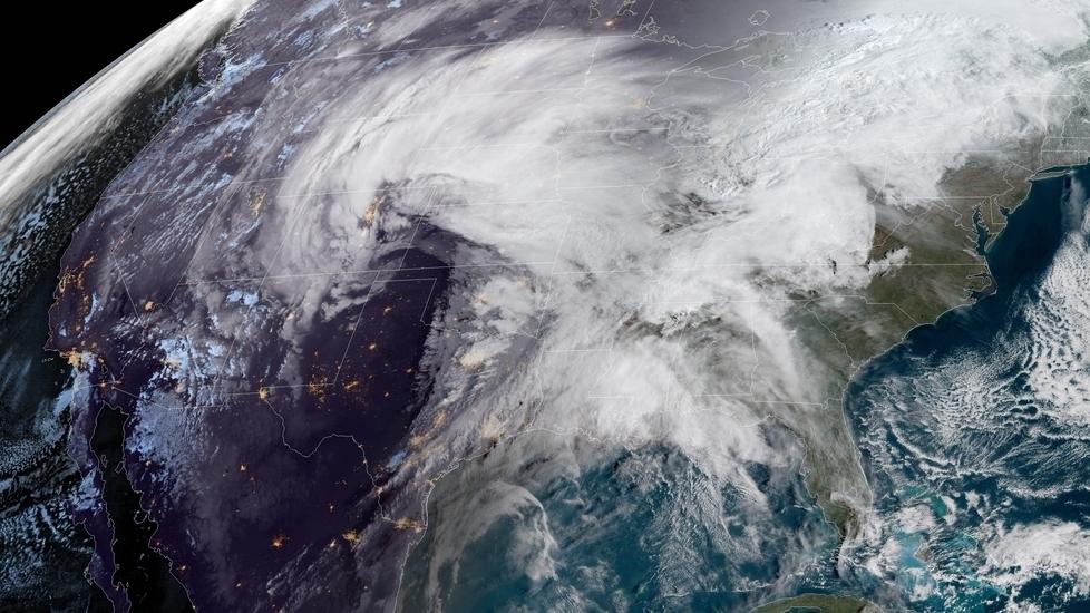 u0026 39 bomb cyclone u0026 39  storm threatens the central u s    npr