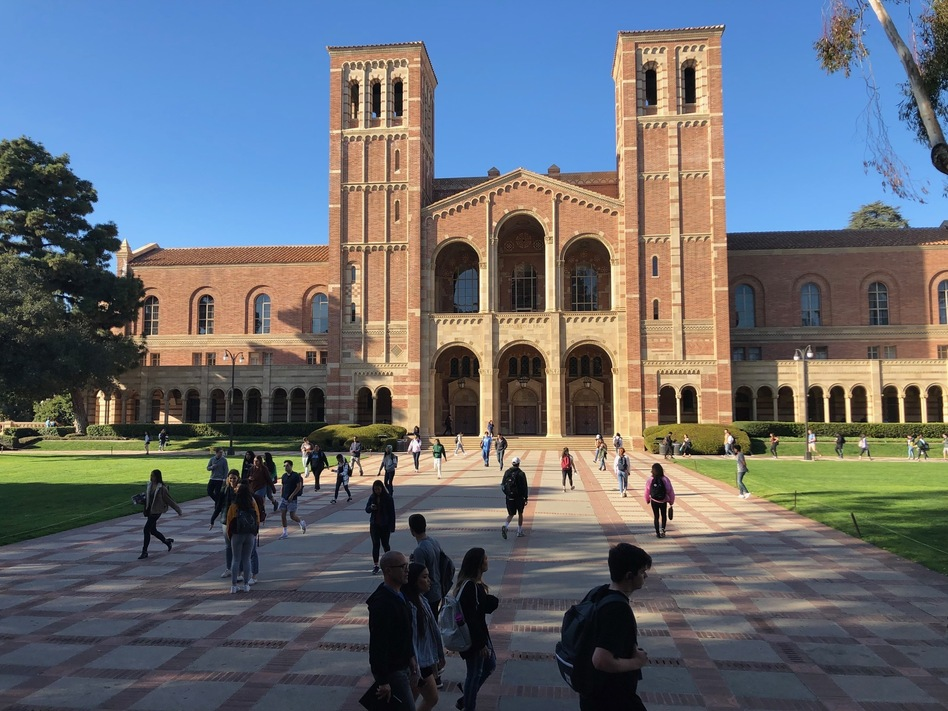 Students at UCLA and elsewhere are not surprised at the admissions cheating scandal rocking the higher education world. They are more frustrated, and cynical. UCLA was one of the schools caught up in the scam. (Megan Schellong/NPR)