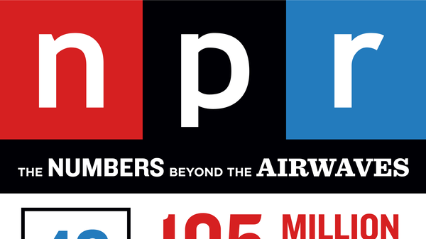 NPR Infographic: The Numbers Behind the Airwaves