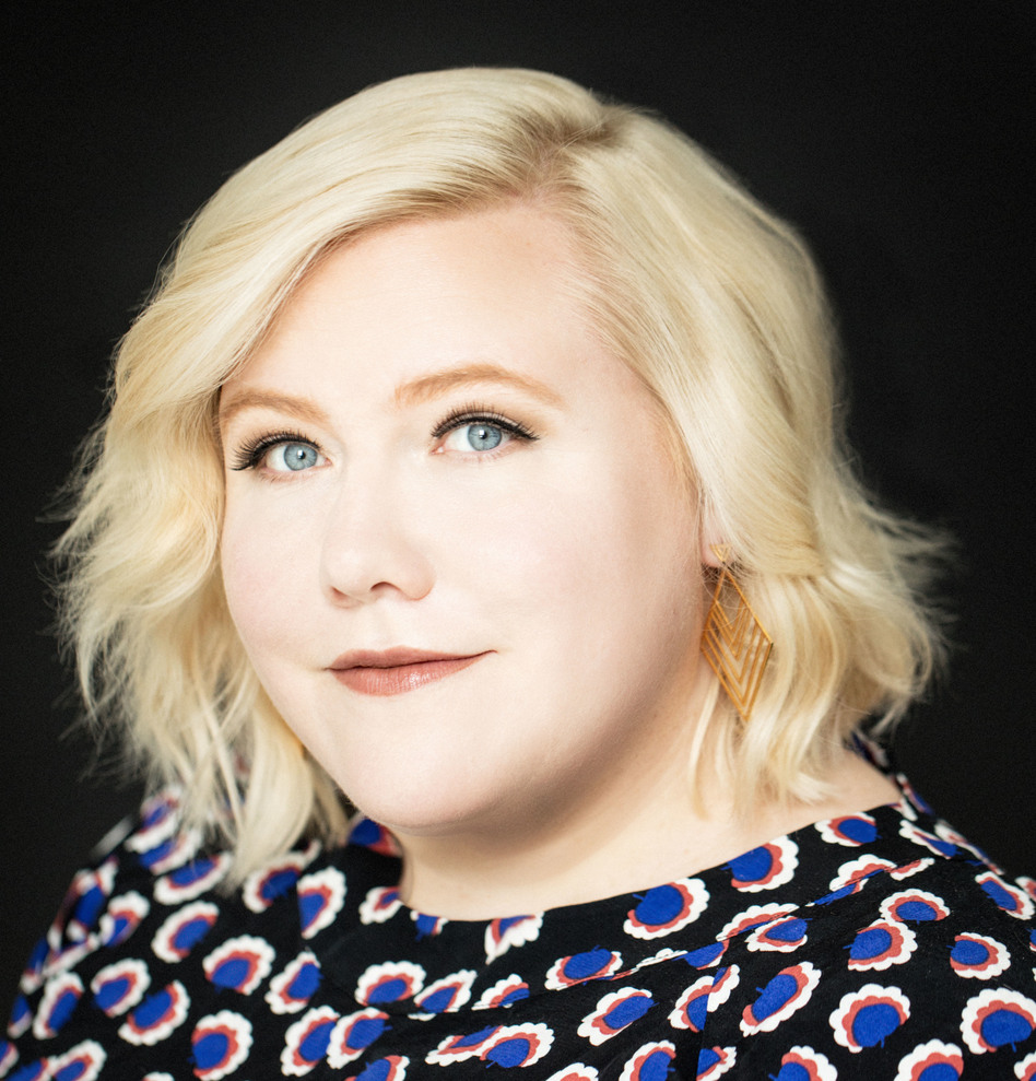 """<em>Shrill</em> executive producer Lindy West enjoyed making a fictionalized version of her life: """"You can work out all your grudges and your resentments against everyone you've ever met, except with this plausible deniability because it's fictional,"""" she says. (Jenny Jimenez/Hulu)"""