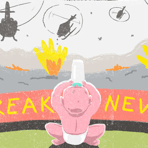 When The News Is Scary, What To Say To Kids